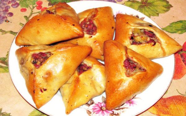 Изысканный эчпочмак по-татарски
