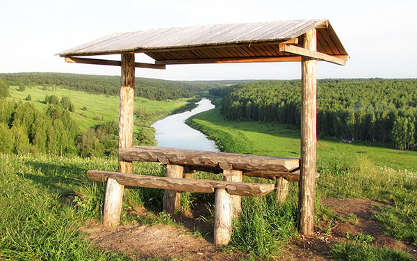 Река Немда и Вятские скалы